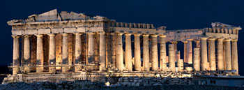 Parthenon on Acropolis.